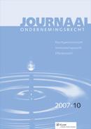 Journaal Ondernemingsrecht