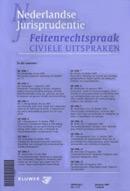 Nederlandse Jurisprudentie Feitenrechtspraak civiele uitspraken