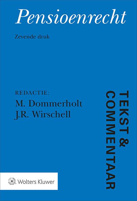 Tekst & Commentaar Pensioenrecht