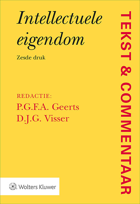 Tekst & Commentaar Intellectuele Eigendom