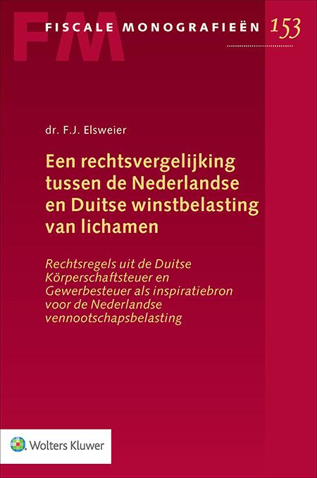 Rechtsvergelijking tussen de Nederlandse en Duitse winstbelasting van licham
