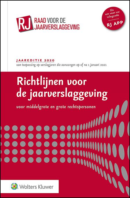 Richtlijnen voor de jaarverslaggeving, grote en middelgrote rechtspersonen