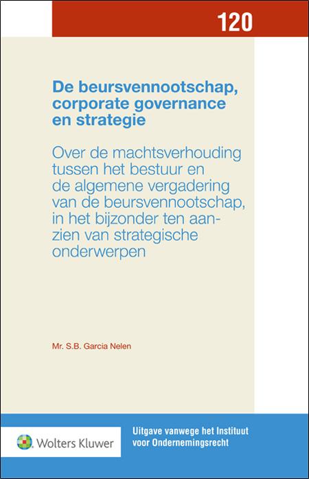 De beursvennootschap, corporate governance en strategie