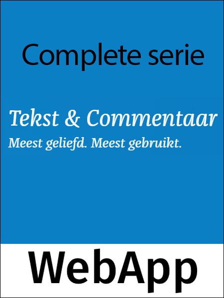 Tekst & Commentaar Complete serie