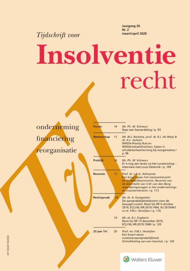 Tijdschrift voor Insolventierecht