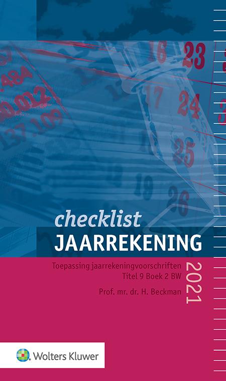 Checklist Jaarrekening