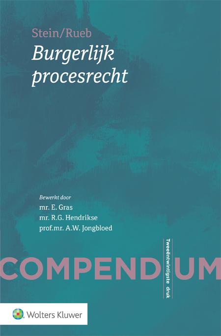 Compendium Burgerlijk procesrecht