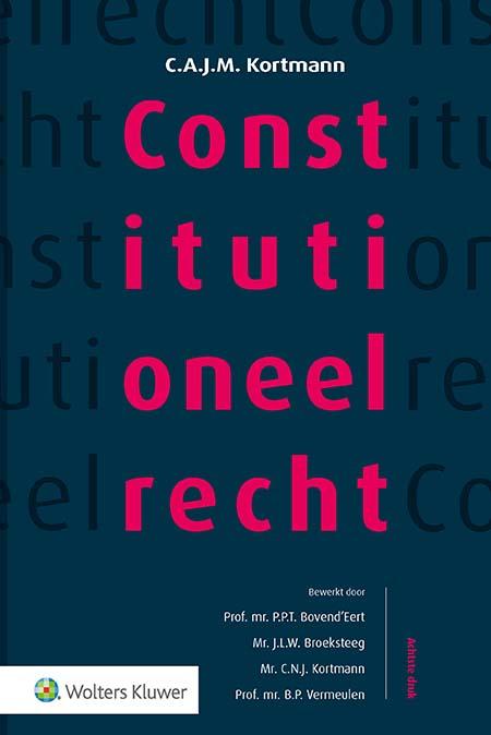 Constitutioneel recht, softcover editie