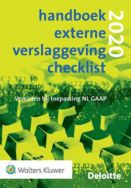 Handboek Externe Verslaggeving Checklist