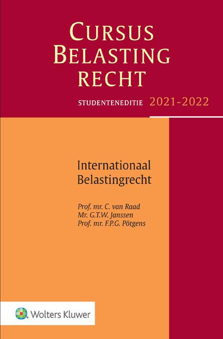Studenteneditie Cursus Belastingrecht Internationaal Belastingrecht