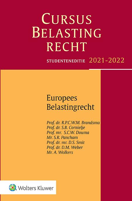 Studenteneditie Cursus Belastingrecht Europees belastingrecht