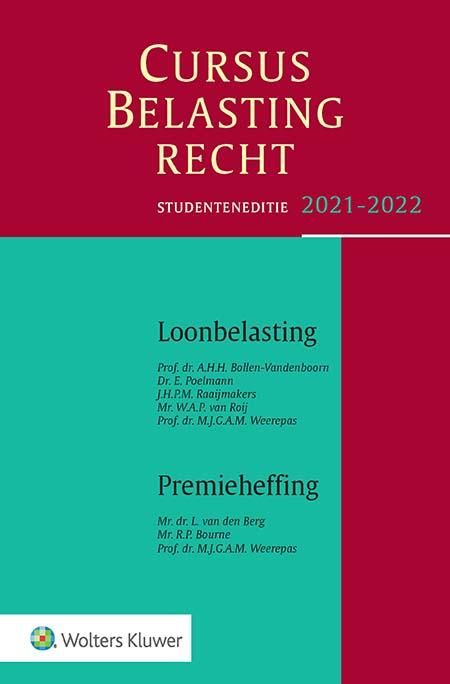 Studenteneditie Cursus Belastingrecht Loonbelasting/Premieheffing