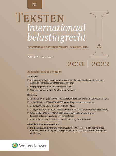 Teksten Internationaal belastingrecht