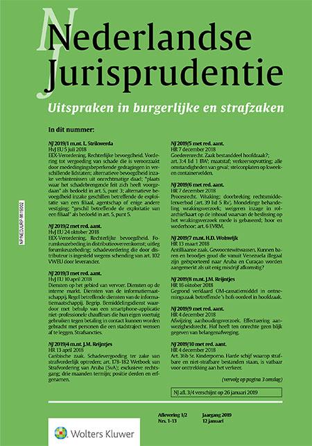 Nederlandse Jurisprudentie