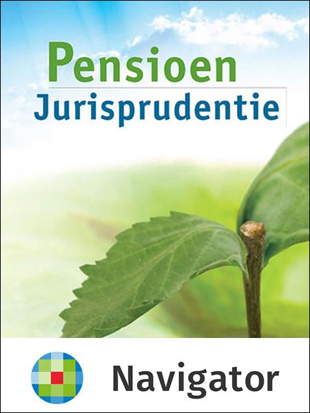 Pensioen Jurisprudentie