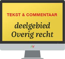 Tekst & Commentaar Deelgebied Diversen online