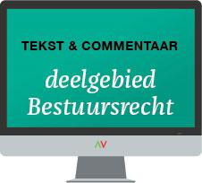 Tekst & Commentaar Deelgebied Bestuursrecht online