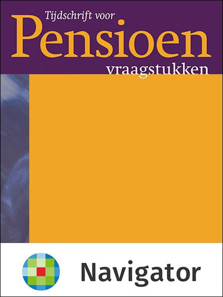 Tijdschrift voor Pensioenvraagstukken