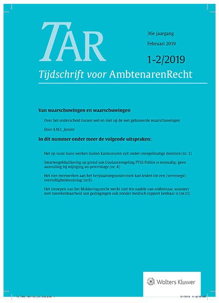 Tijdschrift voor Ambtenarenrecht