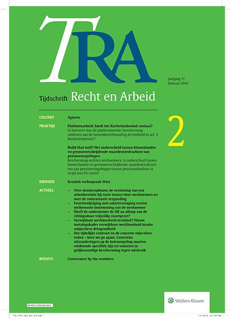 Tijdschrift Recht en Arbeid