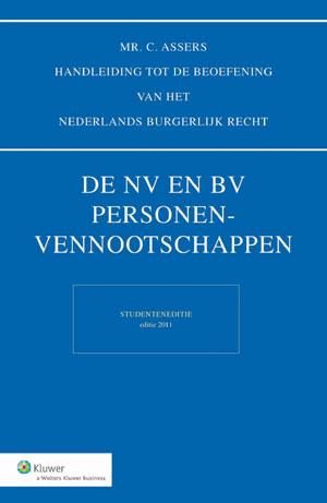 Asser NV en BV Personenvennootschappen - Studenteneditie