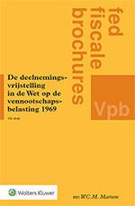 De deelnemingsvrijstelling in Wet op de vennootschapsbelasting